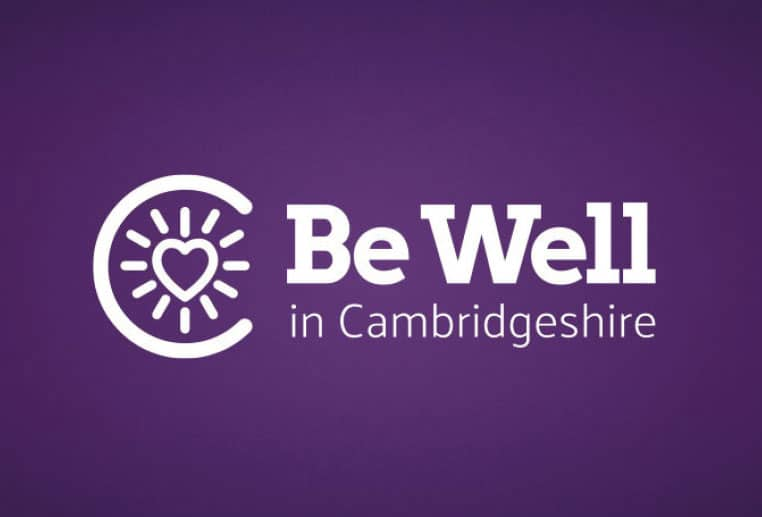 Brand design for Be Well Healthy Living campaign