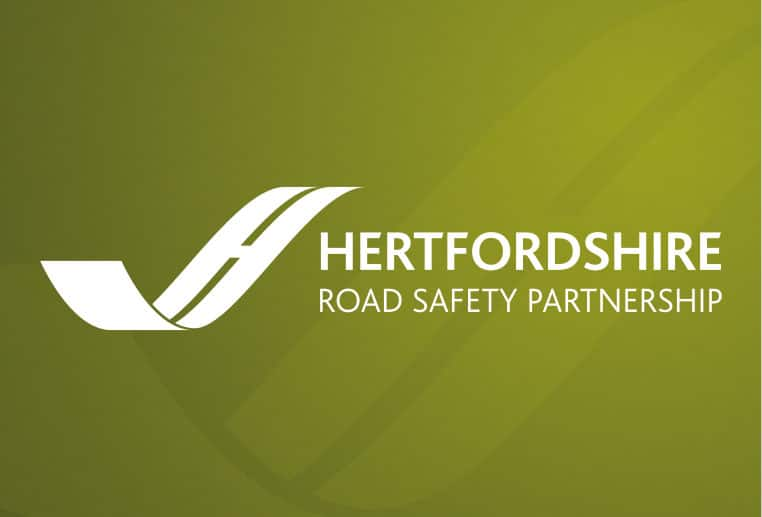 Brand design for Hertfordshire Road Safety Partnership