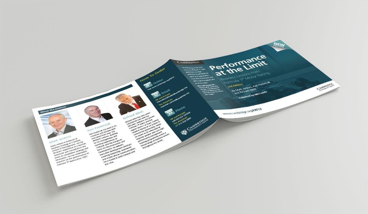 CUP Leaflet design