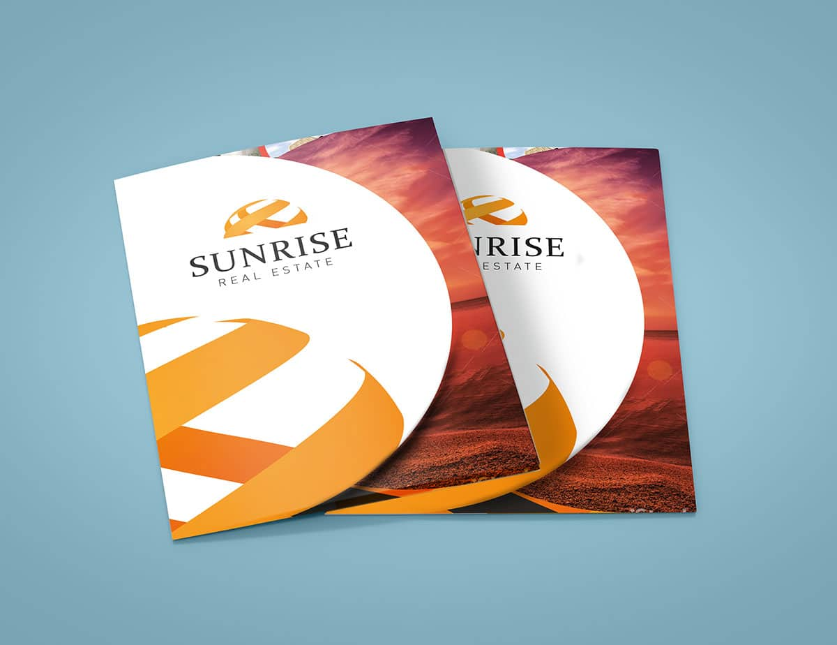 Brochure design for Sunrise Developments