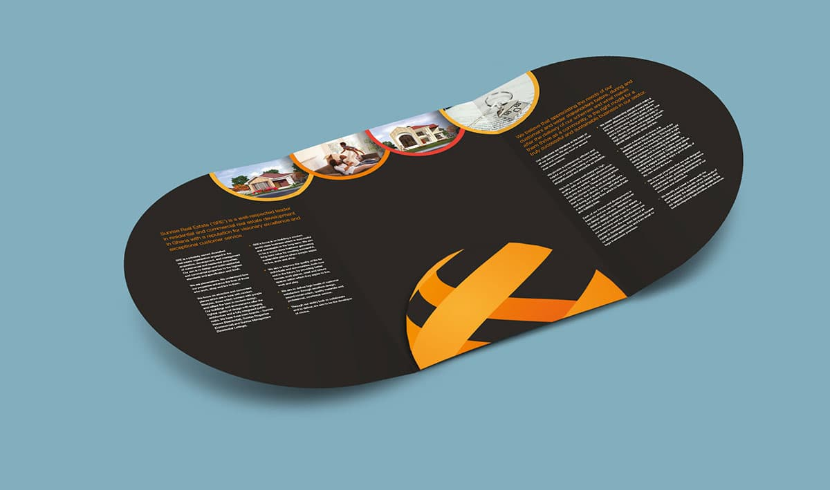 Brochure internal design