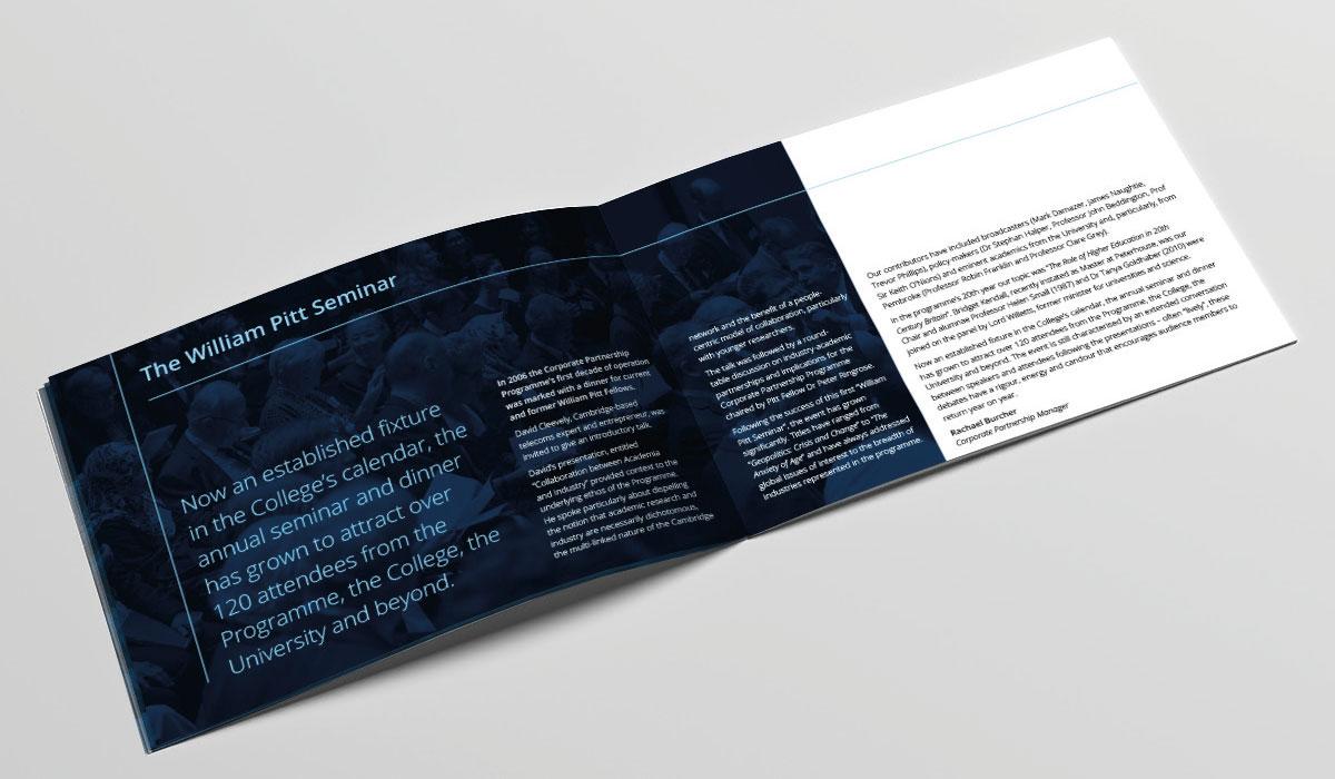 Brochure Inside spread