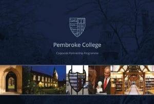 Brochure design for Pembroke College