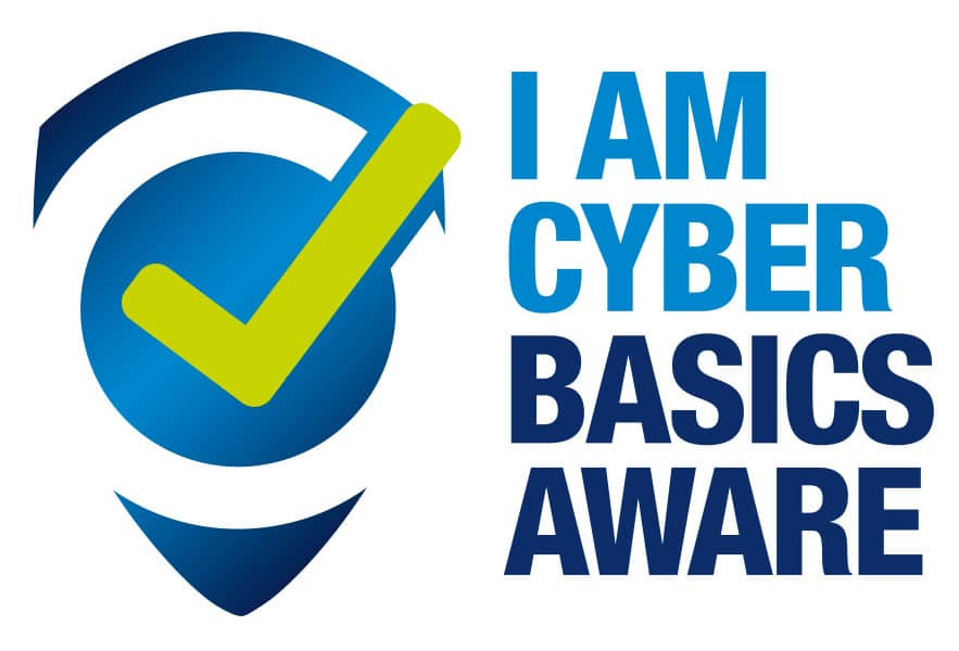 Cyber Basics Aware Logo design